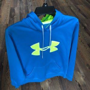 Under Armour Women's Blue Storm sweatshirt—Size M
